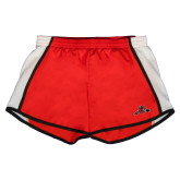 Ladies Red/White Team Short-Hammy w/ Hockey Stick