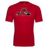 Performance Red Tee-Hammy w/ Hockey Stick