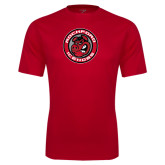 Performance Red Tee-Badge