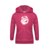 Youth Raspberry Fleece Hoodie-Hammy Head