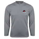 Performance Steel Longsleeve Shirt-Primary Mark