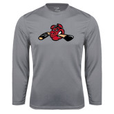 Syntrel Performance Steel Longsleeve Shirt-Hammy w/ Hockey Stick