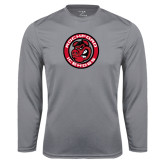 Performance Steel Longsleeve Shirt-Badge