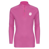 Ladies Syntrel Interlock Raspberry 1/4 Zip-Hammy Head