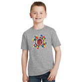 Youth Sport Grey T Shirt-Autism Puzzle Piece