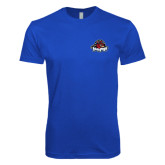 Next Level SoftStyle Royal T Shirt-Primary Mark
