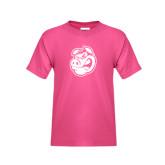 Youth Fuchsia T Shirt-Hammy Head