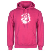 Fuchsia Fleece Hood-Hammy Head