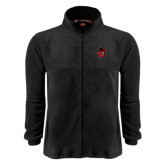 Fleece Full Zip Black Jacket-Hammy Head