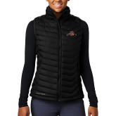 Columbia Lake 22 Ladies Black Vest-Hammy w/ Hockey Stick