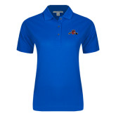 Ladies Easycare Royal Pique Polo-Hammy w/ Hockey Stick