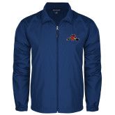 Full Zip Royal Wind Jacket-Hammy w/ Hockey Stick