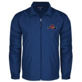 Full Zip Royal Wind Jacket-Hammy w/ Hockey Stick