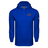 Under Armour Royal Performance Sweats Team Hoodie-Hammy w/ Hockey Stick