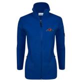 Columbia Ladies Full Zip Royal Fleece Jacket-Hammy w/ Hockey Stick