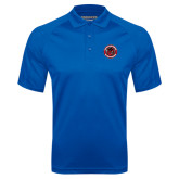 Royal Textured Saddle Shoulder Polo-Badge
