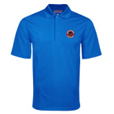 Royal Mini Stripe Polo-Badge