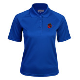 Ladies Royal Textured Saddle Shoulder Polo-Hammy Head