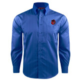 Red House French Blue Dobby Long Sleeve Shirt-Hammy Head