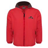 Red Survivor Jacket-Hammy w/ Hockey Stick