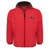 Red Survivor Jacket-Hammy w/ Hockey Stick