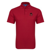 Red Dry Zone Grid Polo-Hammy Head