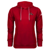 Adidas Climawarm Red Team Issue Hoodie-Hammy w/ Hockey Stick