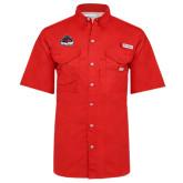 Columbia Bonehead Red Short Sleeve Shirt-Primary Mark