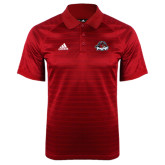 Adidas Climalite Red Jaquard Select Polo-Primary Mark