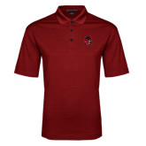 Red Performance Fine Jacquard Polo-Hammy Head