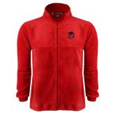Fleece Full Zip Red Jacket-Hammy Head