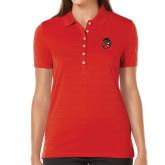 Ladies Callaway Opti Vent Red Polo-Hammy Head