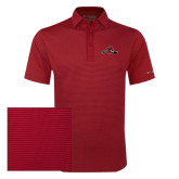 Columbia Red Omni Wick Sunday Golf Polo-Hammy w/ Hockey Stick