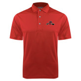 Red Dry Mesh Polo-Hammy w/ Hockey Stick