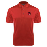 Red Dry Mesh Polo-Hammy Head