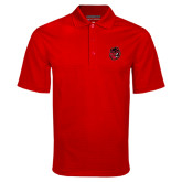 Red Mini Stripe Polo-Hammy Head