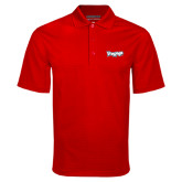 Red Mini Stripe Polo-IceHogs Wordmark