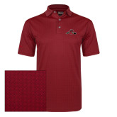 Callaway Red Jacquard Polo-Hammy w/ Hockey Stick