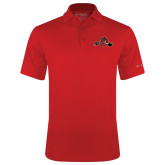 Columbia Red Omni Wick Drive Polo-Hammy w/ Hockey Stick