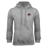 Grey Fleece Hoodie-Primary Mark