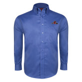 Red House French Blue Long Sleeve Shirt-Hammy w/ Hockey Stick