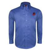 Red House French Blue Long Sleeve Shirt-Hammy Head