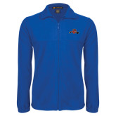 Fleece Full Zip Royal Jacket-Hammy w/ Hockey Stick