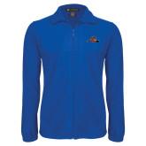 Fleece Full Zip Royal Jacket-Hammy w/ Hockey Stick