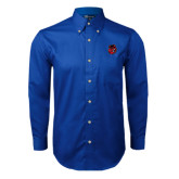 Royal Twill Button Down Long Sleeve-Hammy Head