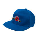 Royal OttoFlex Flat Bill Pro Style Hat-Hammy w/ Hockey Stick