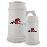 Full Color Decorative Ceramic Mug 22oz-Hammy w/ Hockey Stick