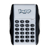 White Flip Cover Calculator-IceHogs Wordmark