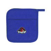 Quilted Canvas Royal Pot Holder-Primary Mark
