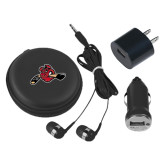 3 in 1 Black Audio Travel Kit-Hammy w/ Hockey Stick